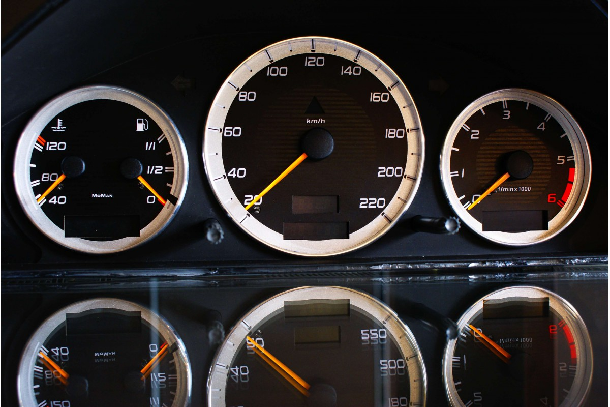 Mercedes W202 C klass 1993-2000 design 1 glow gauges dials plasma dials kit ta
