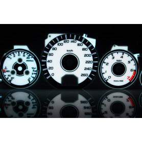 Mercedes W140 tarcze licznika zegary INDIGLO
