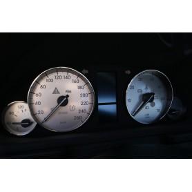 Mercedes W203 2004-2007 wzór 1 tarcze licznika zegary INDIGLO