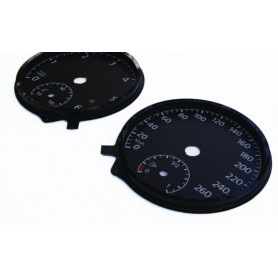 Volkswagen Golf 7, GTI - Replacement dial - converted from MPH to Km/h