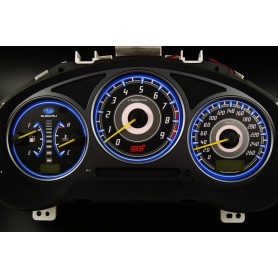 Subaru Impreza 2000-2007 design 1 PLASMA TACHO GLOW GAUGES TACHOSCHEIBEN DIALS