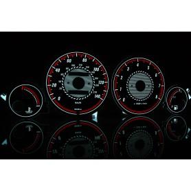 Rover 400 PLASMA TACHO GLOW GAUGES TACHOSCHEIBEN DIALS
