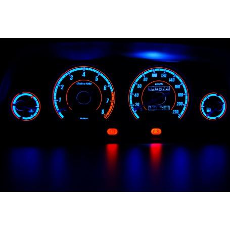 Rover 200 wzór 1 świecące tarcze licznika INDIGLO