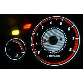 Rover 45 PLASMA TACHO GLOW GAUGES TACHOSCHEIBEN DIALS