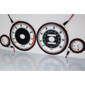 Rover 600 design 1 PLASMA TACHO GLOW GAUGES TACHOSCHEIBEN DIALS