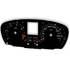 Renault Laguna 3 (2007-2015) - zamiennik tarcz licznika z MPH na km
