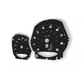 Porsche Macan - zamiennik tarcz licznika z MPH na km/h