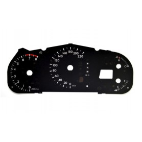 Mazda CX-7 Replacement dial - converted from MPH to Km/h