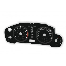 Mazda CX-9 2012-2016 Replacement dial - converted from MPH to Km/h