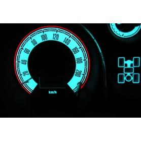 Mitsubishi Pajero, Montero 1999-2006 design 2 PLASMA TACHO GLOW GAUGES TACHOSCHEIBEN DIALS