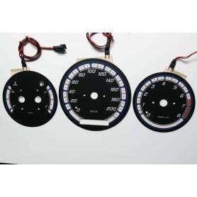 Mazda MPV tarcze licznika zegary INDIGLO