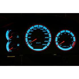 Mazda 626 GF (1997-2001) tarcze licznika zegary INDIGLO