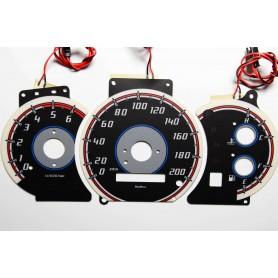 Kia Sorento wzór 2 tarcze licznika zegary INDIGLO