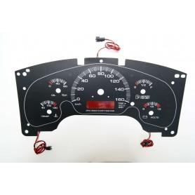 GMC Savana / Chevrolet Astro - zamiennik INDIGLO z MPH na km