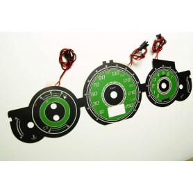 Citroen C5 - wzór 1 tarcze licznika zegary INDIGLO