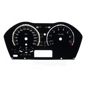 BMW F20 , F22 - zamiennik tarcz licznika z MPH na km