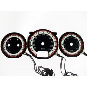 Alfa Romeo 145 & 146 design 1 plasma tacho glow gauges tachoscheiben dials