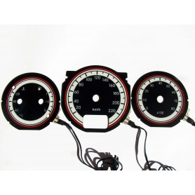 Alfa Romeo 145 i 146 wzór 1 tarcze licznika INDIGLO