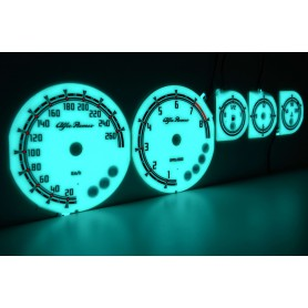 Alfa Romeo GTV design 1 plasma tacho glow gauges tachoscheiben dials
