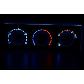 Lada Priora - Heater control panel