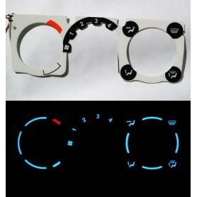 Opel Corsa B - Heater control panel