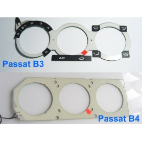 Volkswagen Passat B3 / B4 - Heater control panel