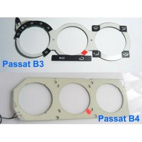 Volkswagen Passat B3 / B4 - panel reg. nawiewu