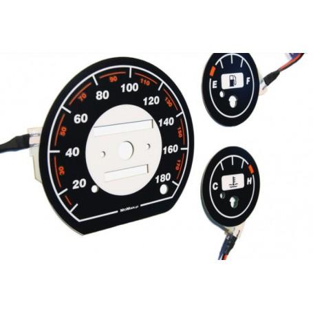 Daewoo Matiz plasma tacho glow gauges tachoscheiben dials