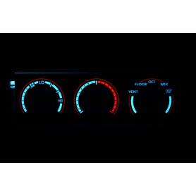 Ford Probe 2 - Podświetlenie regulacji nawiewu