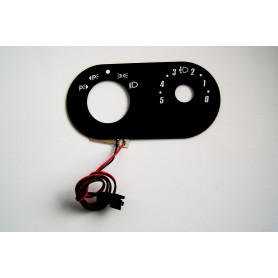 Ford Mondeo MK3 - Lights switch backlight