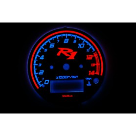 Yamaha R1 YZF-R1 1998-1999 PLASMA TACHO GLOW GAUGES TACHOSCHEIBEN DIALS