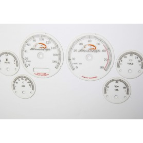 Harley Davidson Electra - replacement dial design 2