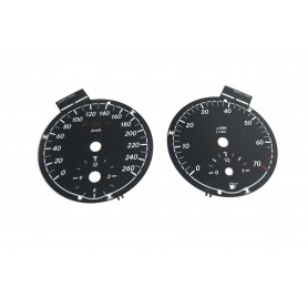 Mercedes SLK R171 - Replacement dial - converted from MPH to Km/h