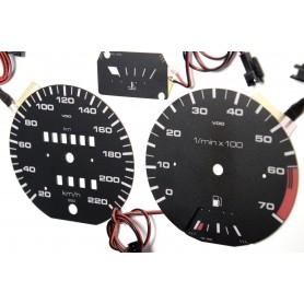 Volkswagen Golf MK2 / Jetta / Scirocco design 2 plasma dials glow gauges