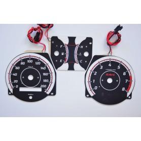 Toyota RAV4 - 1gen. tarcze licznika zegary INDIGLO