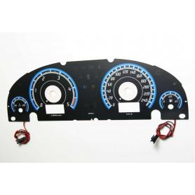 Ford Mondeo MK3 - po lifcie wzór 1 tarcze licznika zegary INDIGLO