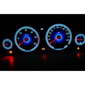 Opel Vectra C wzór 3 tarcze licznika zegary INDIGLO