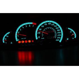 Opel Omega B i C - wzór 1 tarcze licznika zegary INDIGLO
