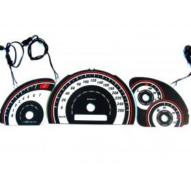 Opel Vectra B - Wzór 1 po lifcie tarcze licznika zegary INDIGLO