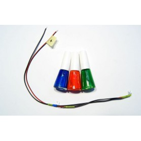 Needles lighting kit - 2x UV diode, Fluorescent Paint