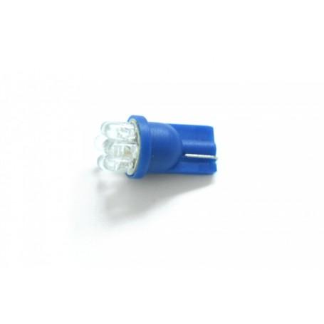 Żarówka postojowa W5W 7x LED Niebieska