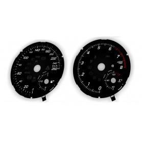 Mercedes GLS, GLE, GLE Coupe zamiennik z MPH na km/h