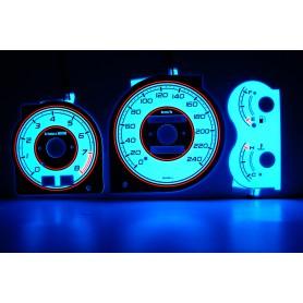Mazda 323F BA tarcze licznika zegary INDIGLO