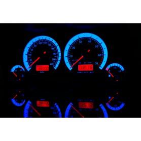Volkswagen Vento / Jetta MK3 wzór 1 świecące tarcze licznika INDIGLO