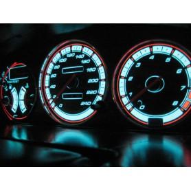 Mazda 323F BG design 1 PLASMA TACHO GLOW GAUGES TACHOSCHEIBEN DIALS