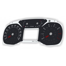 Citroen C3, Aircross - zamiennik tarcz licznika z MPH na km/h