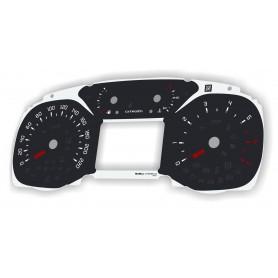 Citroen C3, Aircross - zamiennik z MPH na km/h