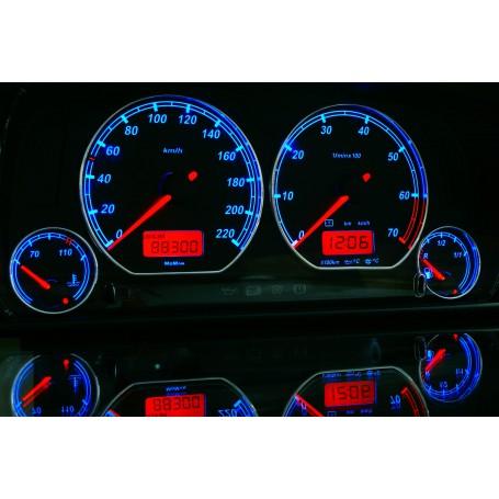 Volkswagen Vento / Jetta MK3 Wzór 2 świecące tarcze licznika INDIGLO