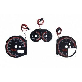 Alfa Romeo 147 , GTA , GT design 1 plasma tacho glow gauges tachoscheiben dials