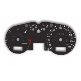 Audi A3 (8L & 8L0) 1996-2003 - replacement tacho dials from MPH to km/h